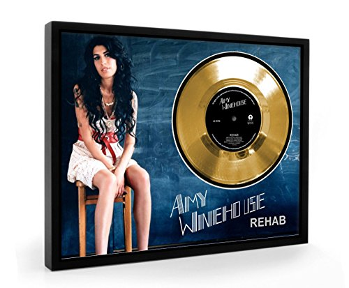 winehouse rehab framed disque d or display vinyl c1 boutique winehouse