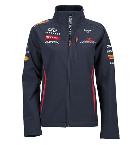 blouson softshell red bull teamline boutique red bull. Black Bedroom Furniture Sets. Home Design Ideas