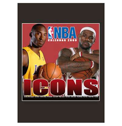 Calendrier 2009 Nba Icons