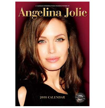 Calendrier 2010 Angelina Jolie