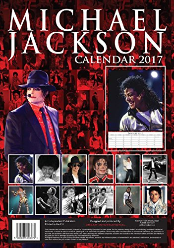Calendrier mural michael jackson 2017 boutique michael for Calendrier photo mural gratuit