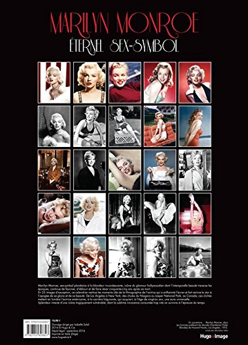 Calendrier mural marilyn monroe 2017 boutique marilyn monroe for Calendrier mural gratuit