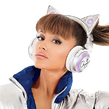 casque audio oreilles de chat ariana grande bluetooth. Black Bedroom Furniture Sets. Home Design Ideas