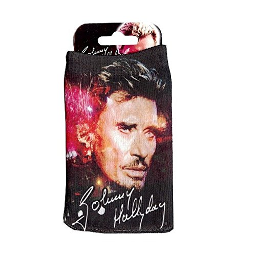 Housse chaussette protection officielle gsm smartphone telephone portable mobile johnny hallyday - Housse de couette johnny hallyday ...