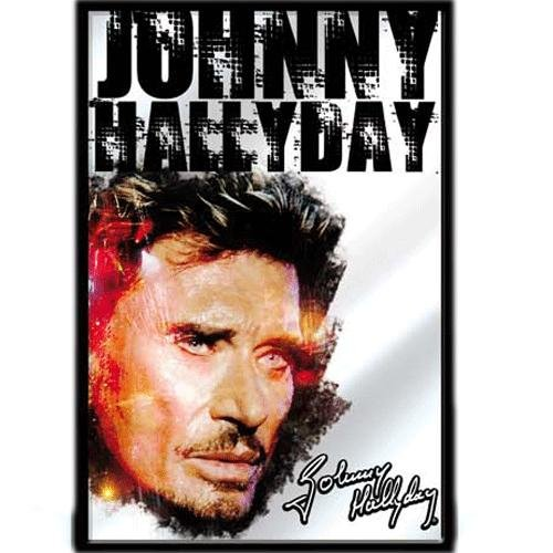Johnny hallyday cadre miroir mod le 5 boutique johnny for Miroir johnny hallyday