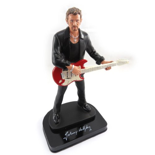 johnny hallyday j9295 figurine 39 johnny halliday 39 guitare rouge boutique johnny hallyday. Black Bedroom Furniture Sets. Home Design Ideas