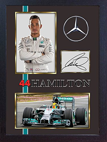 lewis hamilton sign autographe memorabilia mercedes amg formule 1 petronas 8 boutique divers. Black Bedroom Furniture Sets. Home Design Ideas