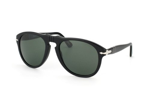 persol lunettes de soleil steve mcqueen po 0649 649 95 31 noir gris vert 54mm boutique steve. Black Bedroom Furniture Sets. Home Design Ideas