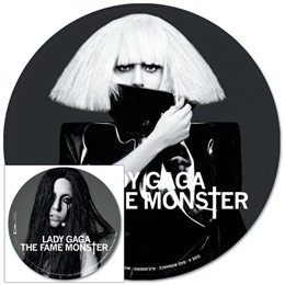 Picture Disc The Fame Monster  Lady Gaga