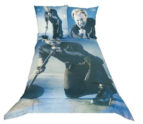 Parure de lit johnny hallyday johnny dbo boutique johnny - Housse de couette johnny hallyday ...