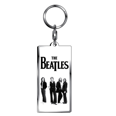 porte cle metal beatles logo boutique beatles. Black Bedroom Furniture Sets. Home Design Ideas