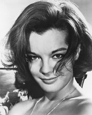 romy schneider 4 photo cin matographique en noir et blanc affiche 60x50cm boutique romy. Black Bedroom Furniture Sets. Home Design Ideas
