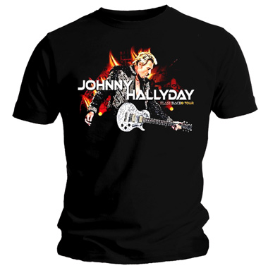 shirt johnny hallyday. Black Bedroom Furniture Sets. Home Design Ideas