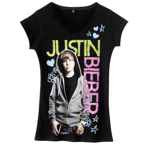 t shirt justin bieber. Black Bedroom Furniture Sets. Home Design Ideas