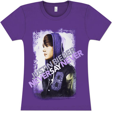 T Shirt Painted Never Say Never