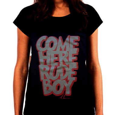 T Shirt Rihanna Playfull Rude Boy