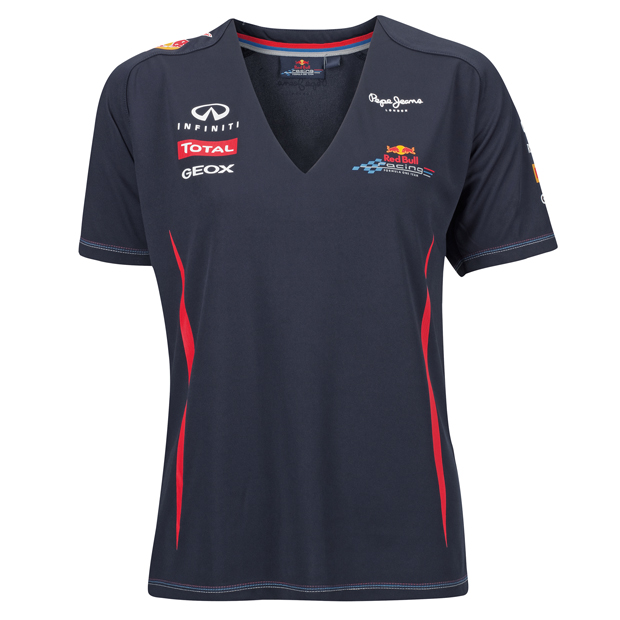 t shirt femme red bull racing boutique red bull. Black Bedroom Furniture Sets. Home Design Ideas