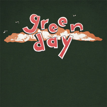 tshirt green day dookie logo boutique green day