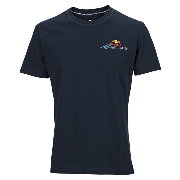 t shirt red bull racing logo boutique red bull. Black Bedroom Furniture Sets. Home Design Ideas