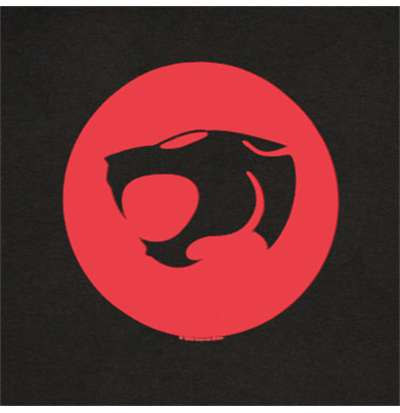 Thundercat Classics on Shirt Thundercats   Classic Red Logo