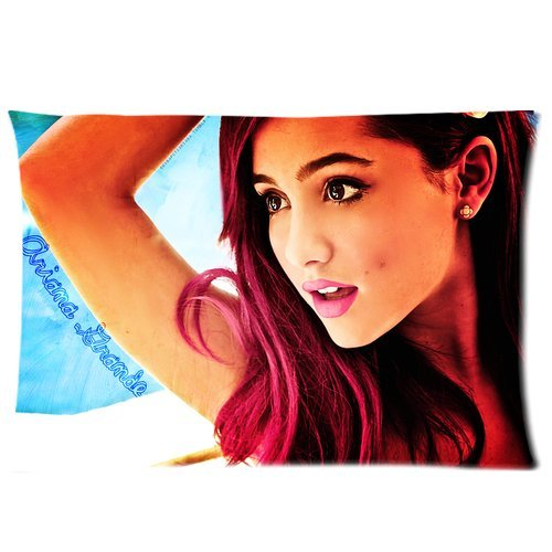 taie d 39 oreiller personnalis e ariana grande custom pillowcase pillow cover 20 x30. Black Bedroom Furniture Sets. Home Design Ideas