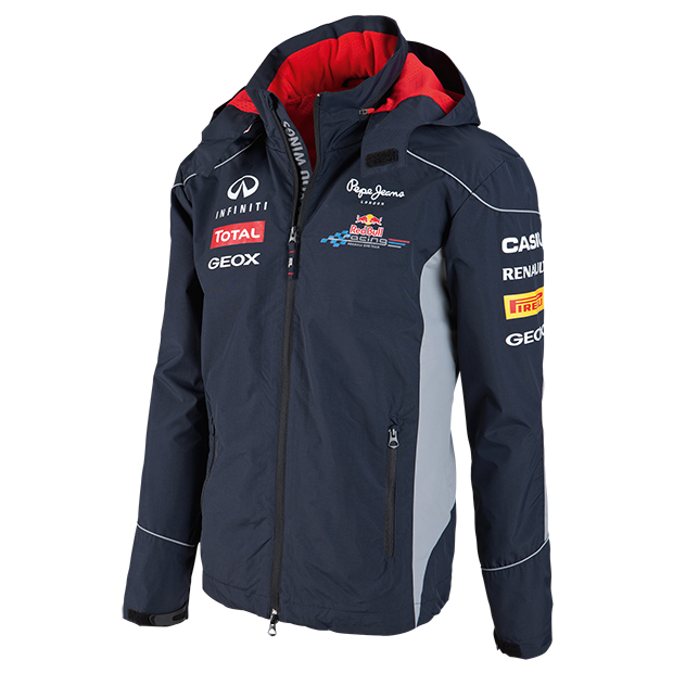 veste imperm able red bull racing boutique red bull. Black Bedroom Furniture Sets. Home Design Ideas