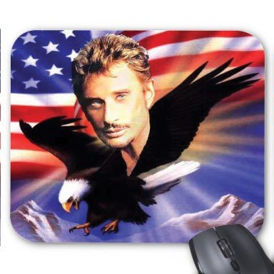 Youdesign Tapis De Souris Personnalis Johnny Hallyday Ref 2218 Boutique Johnny Hallyday