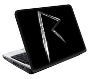 Sticker Rihanna Logo 209mm X 135mm Sticker Pour Netbook
