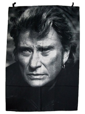 Drapeau Johnny Hallyday - Collection Officielle