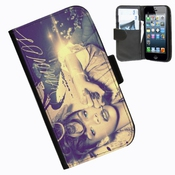 Etui En Cuir Rihanna Iphone4