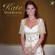 Calendrier Kate Middleton 2015