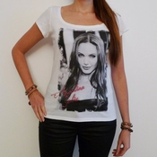 Angelina Jolie : T-shirt Photo De Star