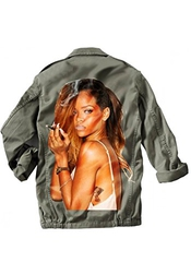 Magic Smoke - Veste Militaire Rihanna Smoke Terry Richardson