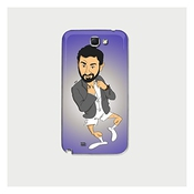 Coque Samsung Galaxy Note 2 Fan De Cyril Hanouna