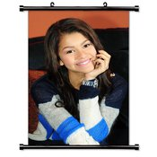 Zendaya Coleman Actress Fabric Wall Scroll Poster (32x48) Inches