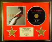 Rihanna/cadre Cd/edition Limitee/certificat D'authenticite/good Girl Gone Bad