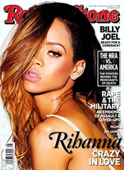 Rolling Stone Magazine Cover Poster - Rihanna - Us Imported Music Wall Poster Print - 30cm X 43cm Brand New