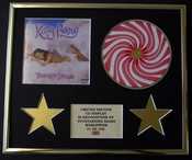 Katy Perry/cadre Cd/edition Limitee/certificat D'authenticite/teenage Dream