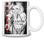 Britney Spears Portrait Tasse
