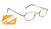 Metal Frame Elegant Optical Quality Computer Reading Glasses Any Strength From +0.00, 1.00, 1.25, 1.50, 1.75, 2.00, 2.25, 2.50, 2.75, 3.00 Leonardo Dicaprio Style Readers By Florida Glasses
