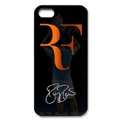 Roger Federer Iphone 5 5s Case, World Tennis Star Roger Federer Iphone 5 5s Black Plastic Protective Case Cover At Private-custom, Unique, Stylish, Personalized Phone Case