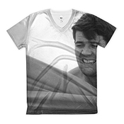 T-shirt With Eric Tabarly Holding.