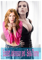 Scarlett Johansson And   Bella Thorne: Pictures Book (english Edition)