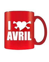 T-shirtshock - Tasse Mug 11oz Fun0659 Avril Lavigne Heart Cu 3 1, Taille 11oz
