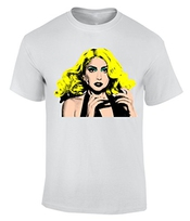 Lady Gaga Pop Art T-shirt Homme