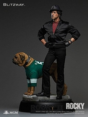 Rocky Ii Superb Scale Hybrid Statue 1/4 Sylvester Stallone 52 Cm Blitzway