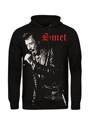 Johnny Hallyday - Sweat Capuche Noir Johnny On The Scene