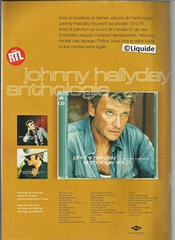 Michel Polnareff - Vince Taylor - In-betweens - Serge Gainsbourg - Poster Brigitte Bardot - Ray Charles - Argus Ep Français : Eddie Constantine, Annie Cordy - Johnny Hallyday (dernière Couverture)