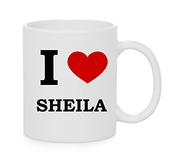 I Heart Sheila (amour) Tasse Officielle