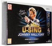 U-sing - Johnny Hallyday - Version Collectror - Jeu + 2 Microphones + Poster